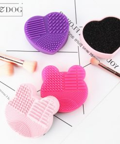 Brosse nettoyage pour pinceaux maquillage